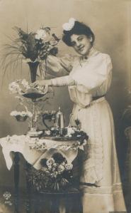 Edwardian Maid - 1910