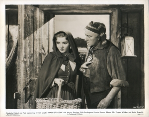 "Claudette Colbert as ""Barbara Clarke"" in ""Maid Of Salem"" 1937"