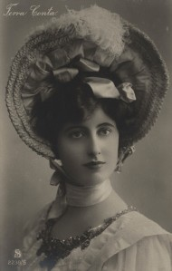 Lady in a Picture Hat