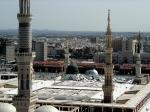 Al-Masjid an-Nabawi; Prophet's Mosque, Medina taken in 2001d