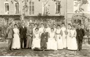 Bloomsbury Hotel staff, London c1900