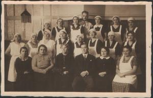 Household staff c1930