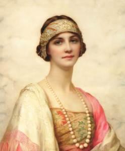 Elegant Beauty - William Clarke Wontner