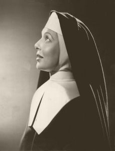 Loretta Young  as Sister Margaret in  Come to the Stable - 1949