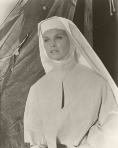 """Irish McCalla as Sister Magdalena  - """"Five Gates to Hell"""" (1959)"""