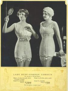 Lady Duff-Gordon Corsets - 1918
