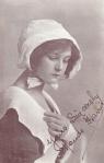 Maude Harris as Prudence in The Quaker Girl – Bristol1911