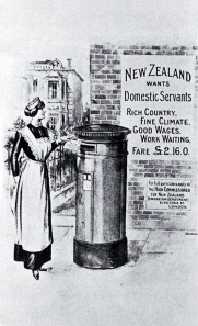 New Zealand wants domestic servants c 1913