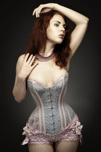 Corset and frills