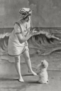 Edwardian Bathing Belle
