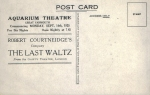 The Last Waltz – 4th September 1925(back)