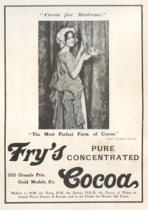Fry's Cocoa Advertisement - Illustrated London News - Christmas 1909