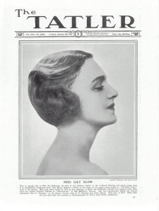Lily Elsie - The Tatler - 26th January 1927