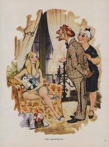 She's spanking new - October 1976 Playboy magazine.