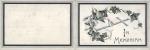 Queen Victoria – Memorium Card  – 22nd January1901