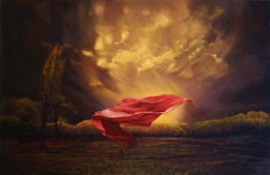 The Red Shawl