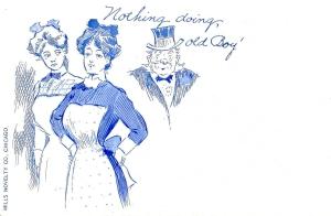 1900's comic postcard