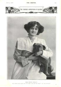 Gertie Millar - The Sketch - 4th June 1902