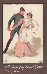 Soldier & Maid ( Tuck  1806) 1904