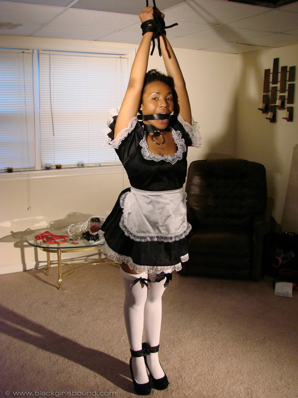 Maid bondage french amateur