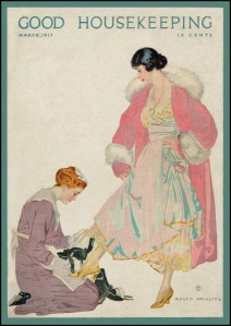 Good Housekeeping Coles Phillips 1917