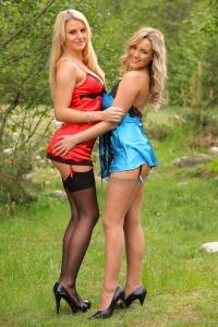 Jodie and Naomi