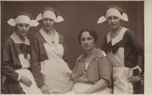 Austrian maids 1900's