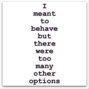 A brat's mantra