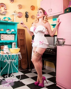 Corset and cupcakes
