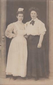 Edwardian maid and mistress