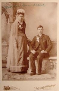 Gus Sebert Bride,  Fort Dodge Iowa