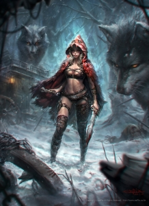 Little Red Riding Hood, Wolf Slayer
