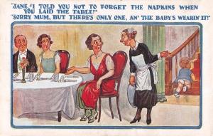 No napkins!!