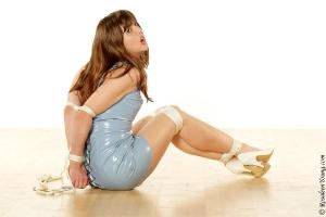 Rosaleen Young - Latex dress