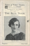 The Blue Train – Programme – 22nd August 1927 – Front cover