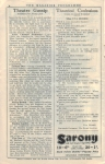 The Blue Train – Programme – 22nd August 1927 – Page 4