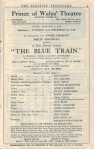 The Blue Train – Programme – 22nd August 1927 – Page9