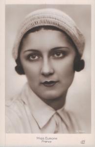 Jeanne Juilla - Miss Europa 1931 (Alfred Noyer – Paris 1A)