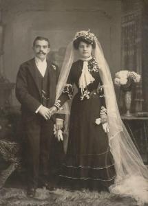 Late 1890's wedding