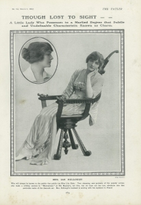 Lily Elsie - The Tatler - 1st March 1916