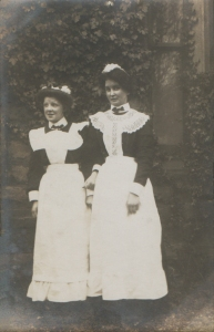 Two Edwardian Maids