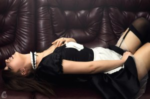 Lazy maid