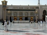 Al-Masjid an-Nabawi; Prophet's Mosque, Medina taken in 2001a