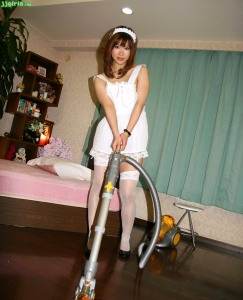 Maid Mitsuki - Non uniform day