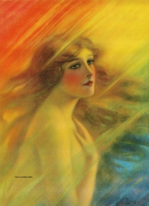 """The Rainbow Girl"" by F.W. Read c. 1920s"