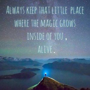That magic place