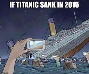 If the Titanic sank in 2015