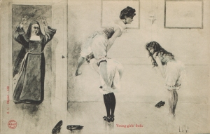 Young Girls Frolic (A. L. Depose 102)