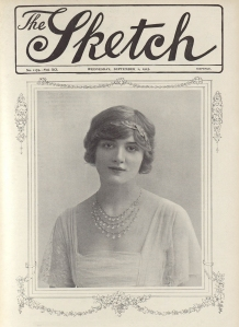 Lily Elsie - The Tatler - 1st September 1915