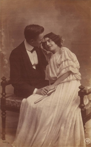 Edwardian couple (NPG 540/6)  (1906)